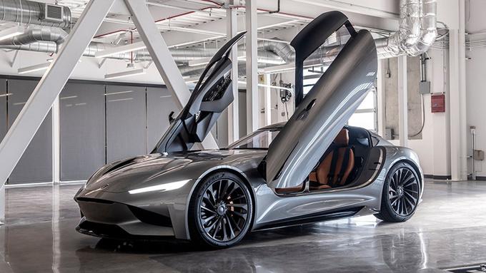 Karma全新E-Flex平台开始测试 新车2021年亮相-图1