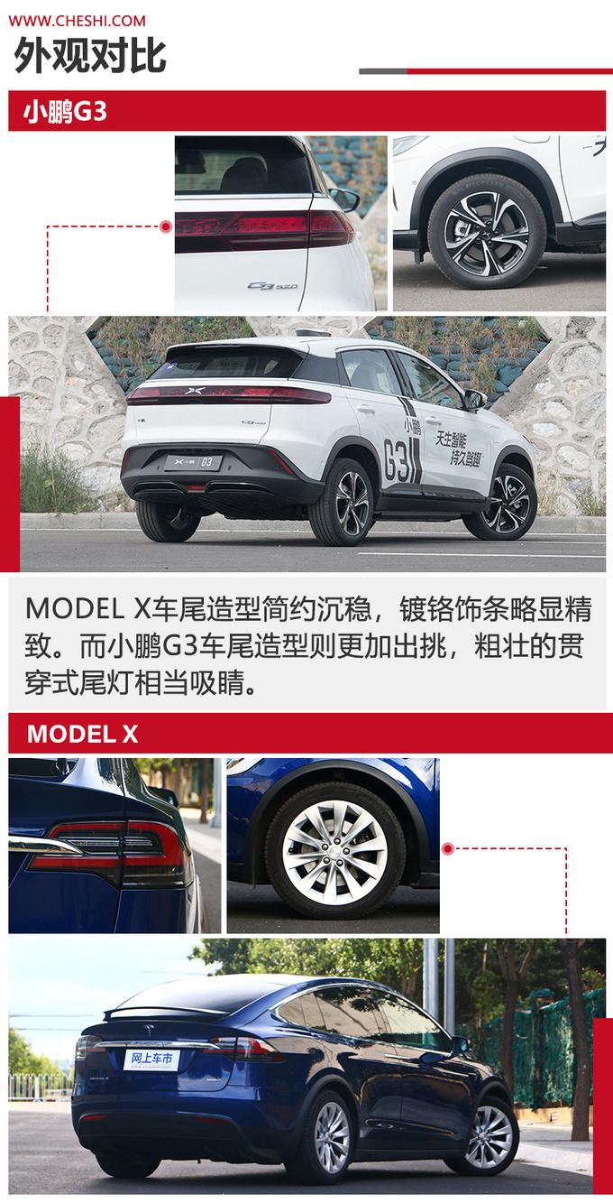 小鹏G3对比Model X更低的价格 更高的性价比-图4