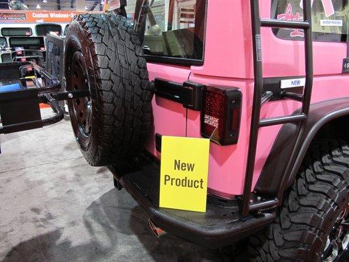 粉色初恋 jeep牧马人外观改装高清图片