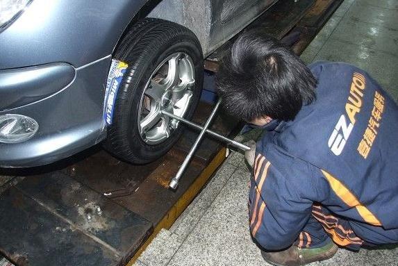 标志206汽车轮胎轮毂改装【图】