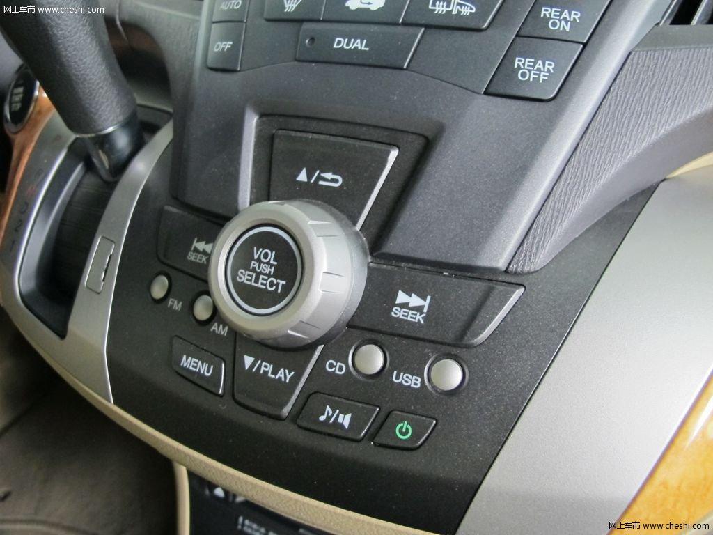 奥德赛 2009款 2.4l 自动豪华版 7座内饰中控高清图片