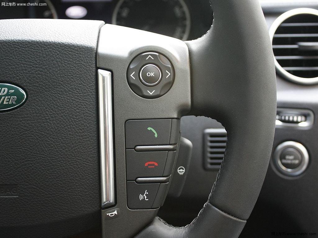路虎发现 2012款 5.0 自动HSE汽油版 7座中控方向盘高清图片 5 25 网高清图片