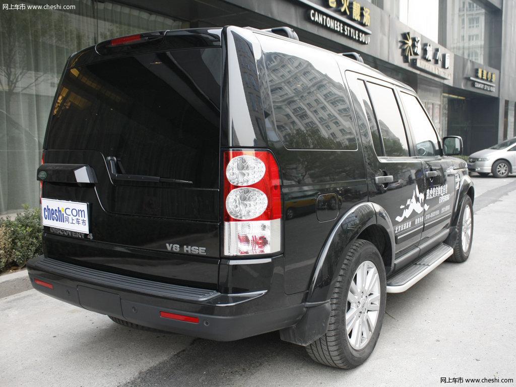 圣托里尼黑路虎发现 2012款 5.0 自动HSE汽油版 7座外观整体高清图片高清图片