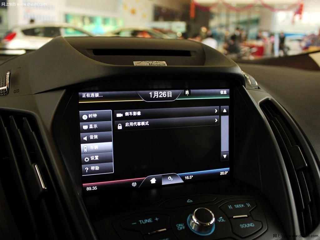珍珠白翼虎 2013款 2.0t 自动四驱运动型 5座内饰中控