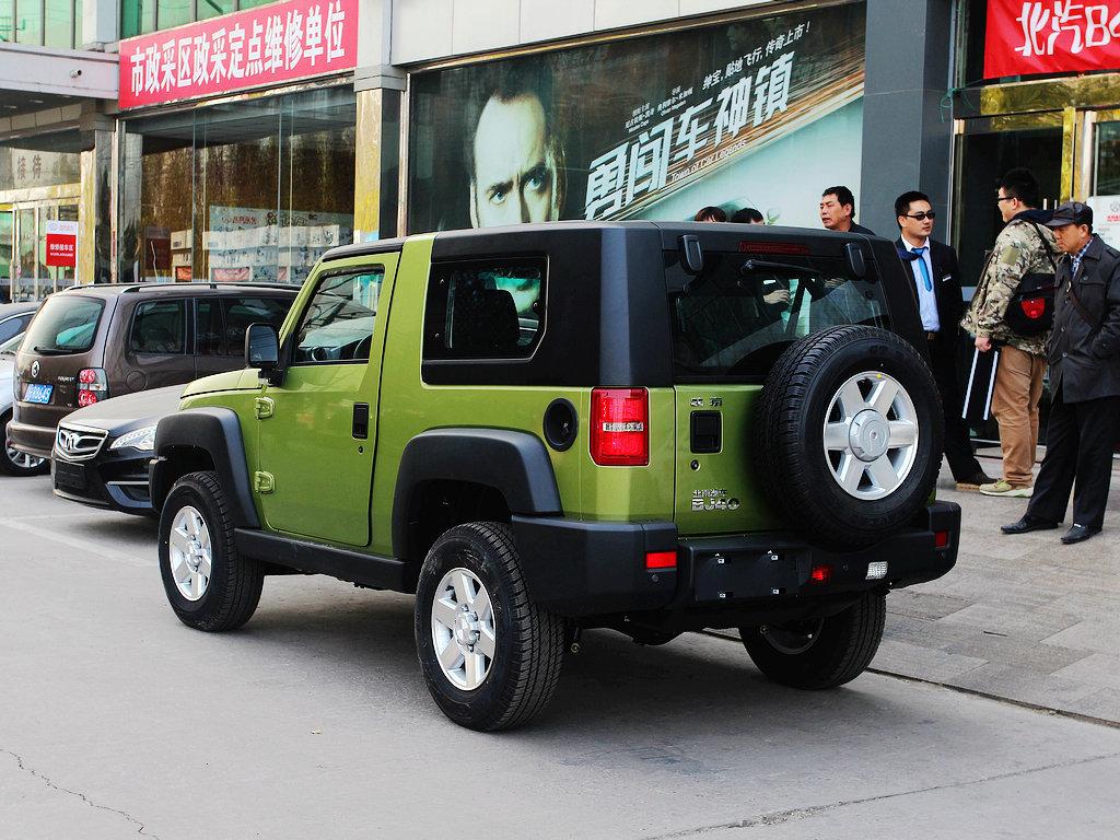 北京汽车bj40 2014款 2.4l 手动 穿越版图片
