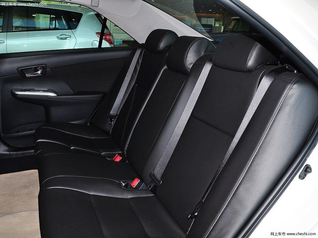 珍珠白凯美瑞座椅空间高清图片(47/173)_网上车市