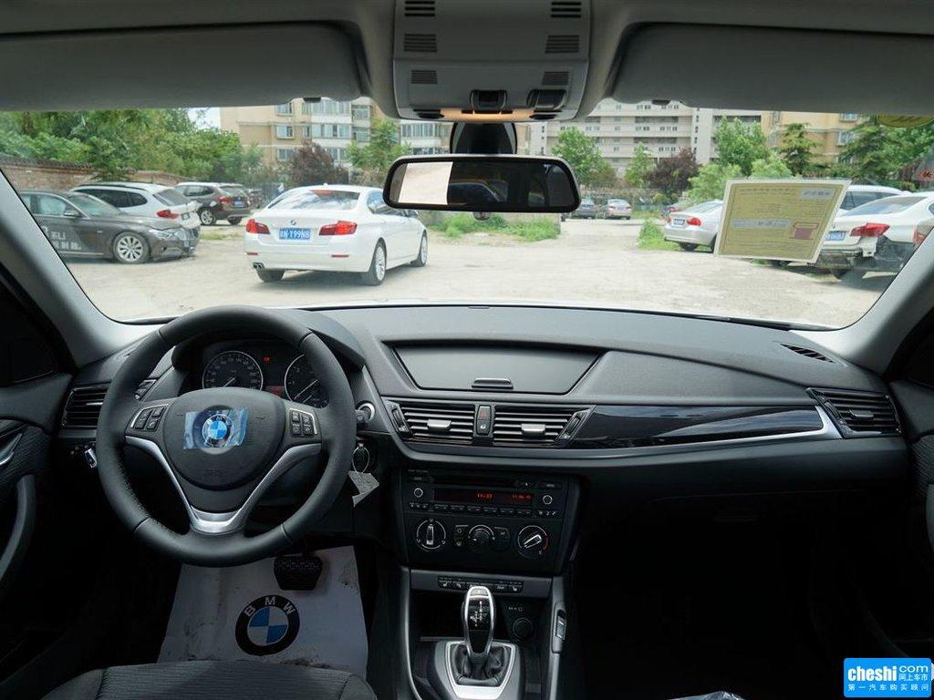 汽车图片 宝马 宝马x1 2015款 sdrive18i 时尚晋级版  内饰中控 (587