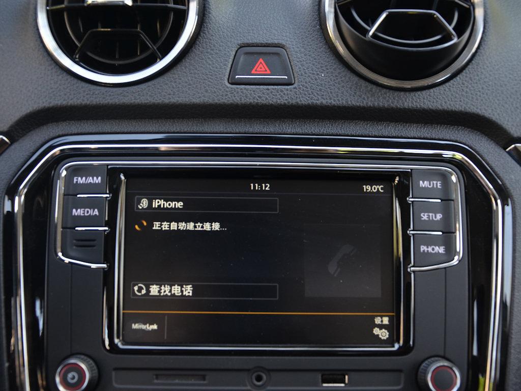 捷达2017款 1.5l自动豪华型内饰中控图片(21/61)_网上