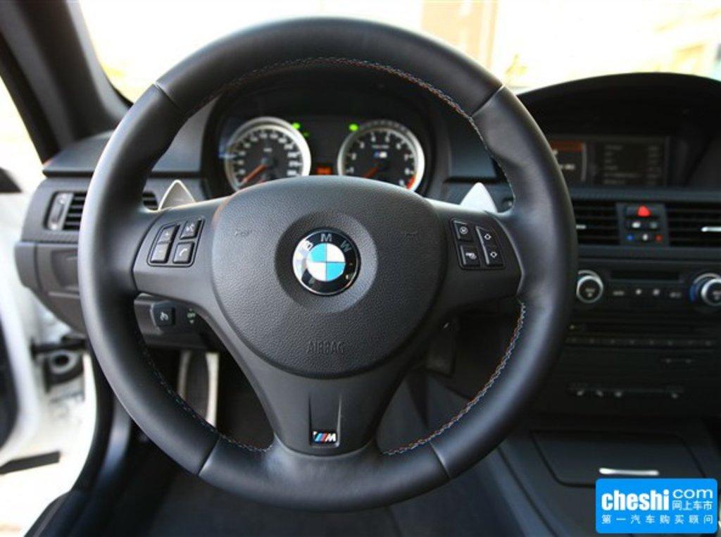 宝马m3 2009款 4.0l dct双门轿跑车内饰中控高清图片