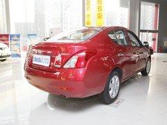 东风日产  新阳光 1.5 CVT 车辆右侧尾部视角