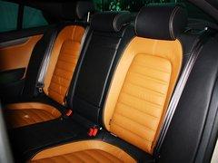 一汽-大众  1.8TSI DSG 第二排座椅45度视角