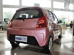 长安铃木  1.0L 自动 车辆右侧尾部视角