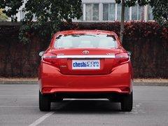 一汽丰田  1.5L 自动 车辆正后方尾部视角