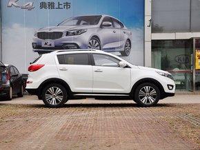 东风悦达起亚  2.0L 自动 车辆正右侧