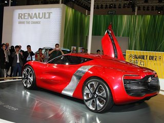 雷诺 DeZir概念车 车展