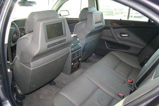 宝马 5系 加长版 后排座椅