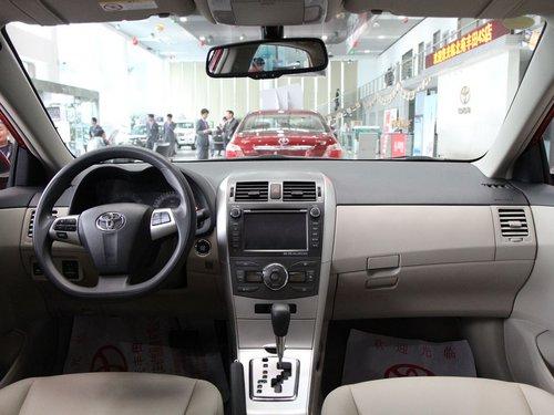 一汽丰田  卡罗拉 1.6 AT 中控台整体