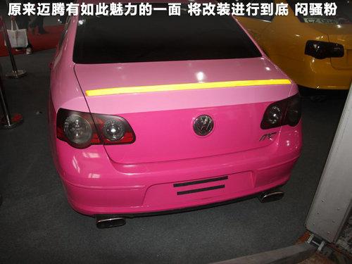 k-sport四轮独立空气悬挂绝对够低,但看了下粉色新迈腾的改装您会觉得