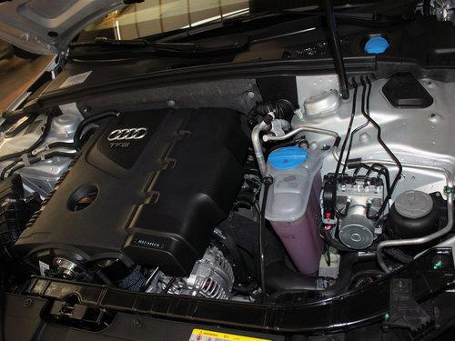 一汽奥迪  A4L 2.0 TFSI CVT 发动机局部特写