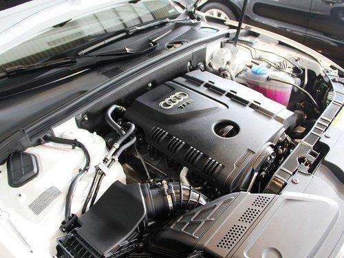 奥迪(进口)  2.0T 发动机主体特写
