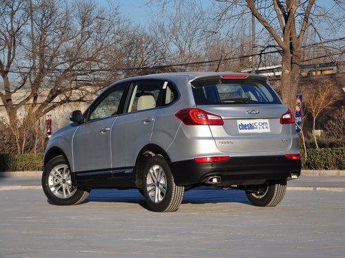 奇瑞汽车  2.0L 手动 车辆左后45度视角