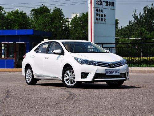 一汽丰田卡罗拉最低价格7.78万-网上车市