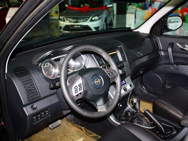 海马汽车  2.0L 自动 中控台左侧