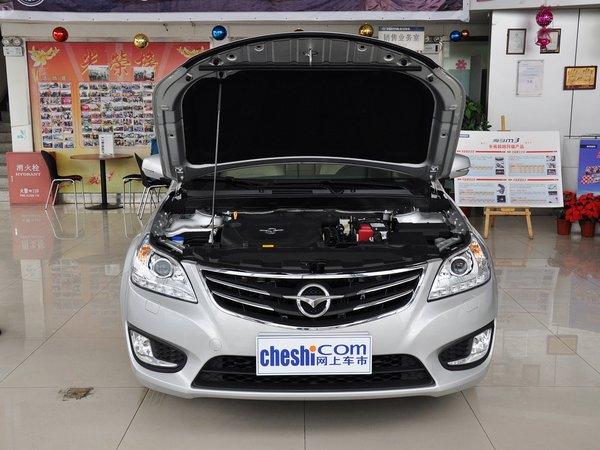 海马汽车  2.0L 手动 车辆发动机舱整体