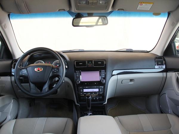 吉利汽车  2.4L 自动 中控台整体
