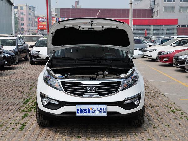 东风悦达起亚  2.4L 自动 车辆发动机舱整体