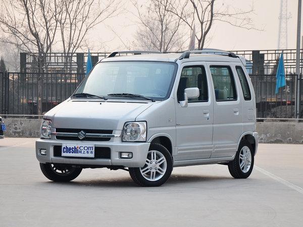 昌河铃木  全能版 1.4L 手动 车辆左前45度视角