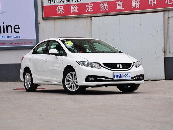 东风本田  1.8L 自动 车辆右侧45度角