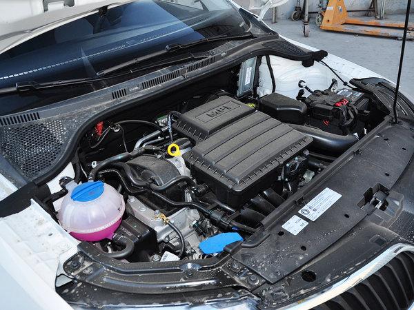斯柯达  1.4L 手动 发动机主体特写
