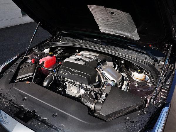 凯迪拉克(国产)  28T 发动机主体特写