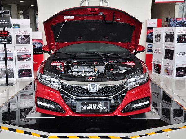 东风本田  2.4L 车辆发动机舱整体