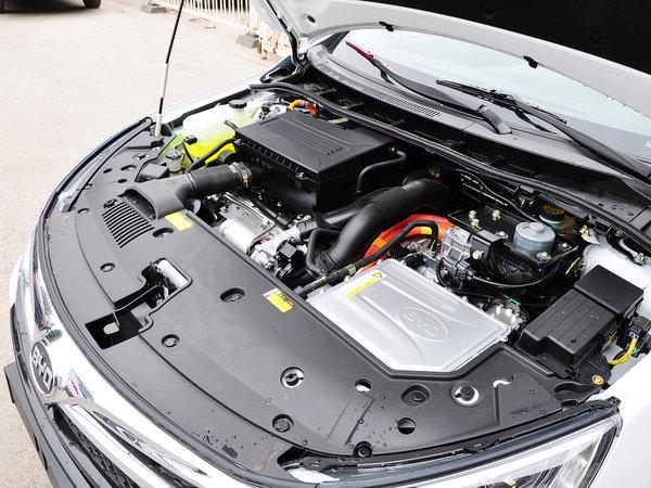 比亚迪  1.5T 发动机主体特写