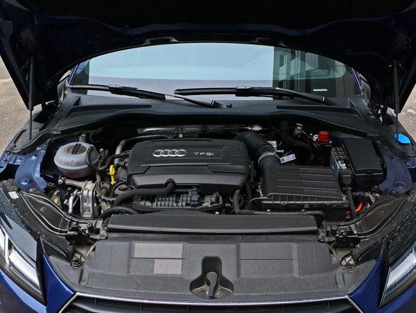奥迪(进口)  TT Coupe 车辆发动机舱整体