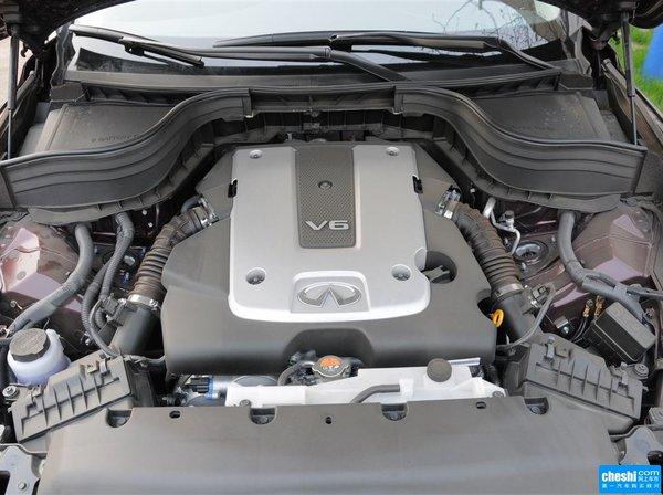 东风英菲尼迪  2.5L 发动机标识