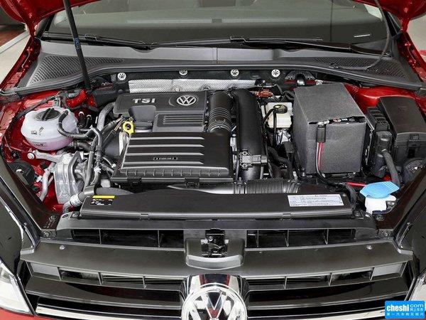 一汽-大众  1.2TSI 自动 发动机局部特写