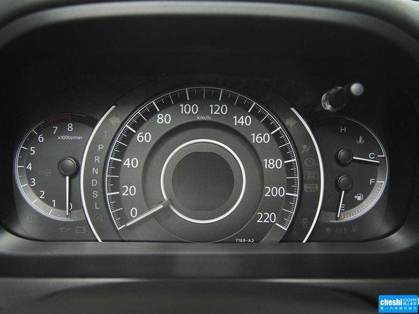 东风本田  2.4L CVT 方向盘后方仪表盘