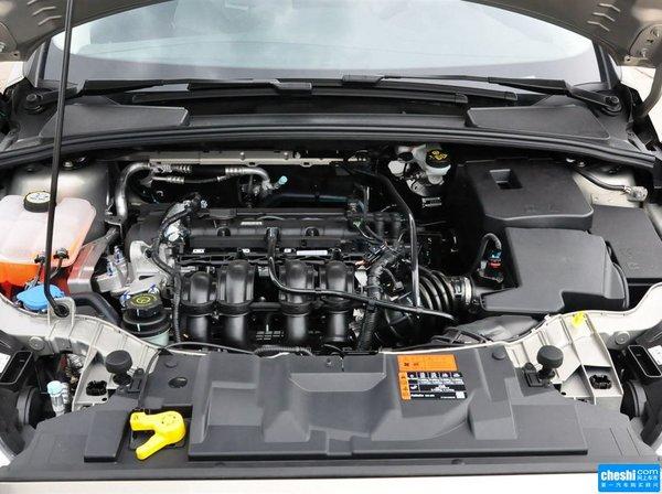 长安福特  两厢 1.6L 自动 发动机局部特写
