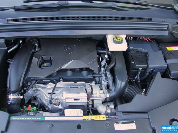 长安PSA  1.6T 发动机标识