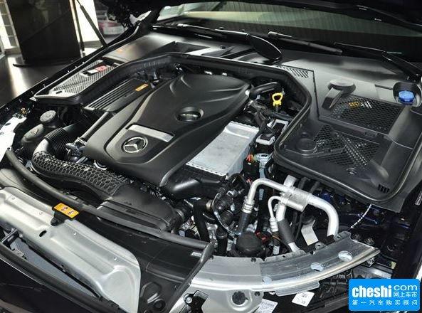 奔驰(进口)  C200 发动机标识