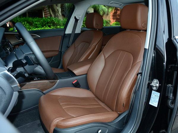 一汽奥迪  奥迪A6L 驾驶席座椅前45度视图