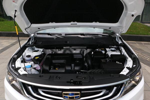 吉利汽车  基本型 车辆发动机舱整体