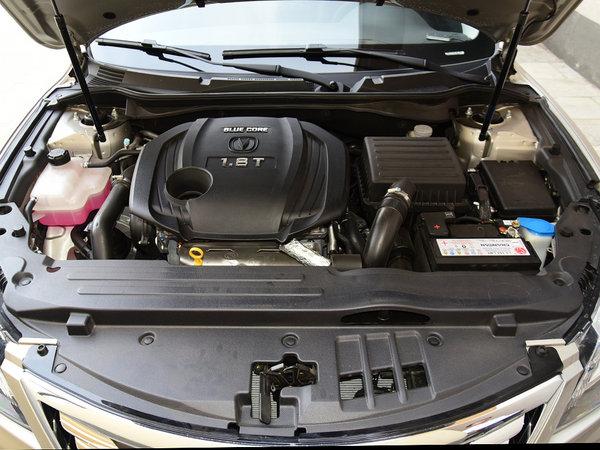 长安乘用车  1.8T 发动机标识