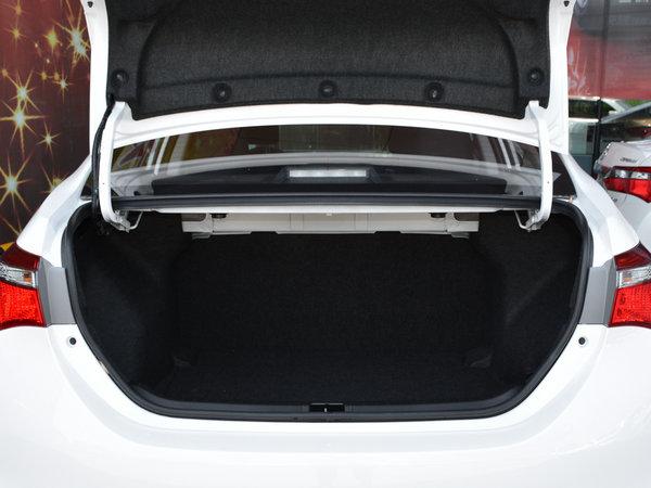 一汽丰田  改款 1.2T CVT 后备箱