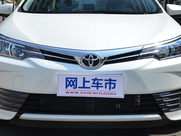 一汽丰田  改款 1.2T CVT 前脸
