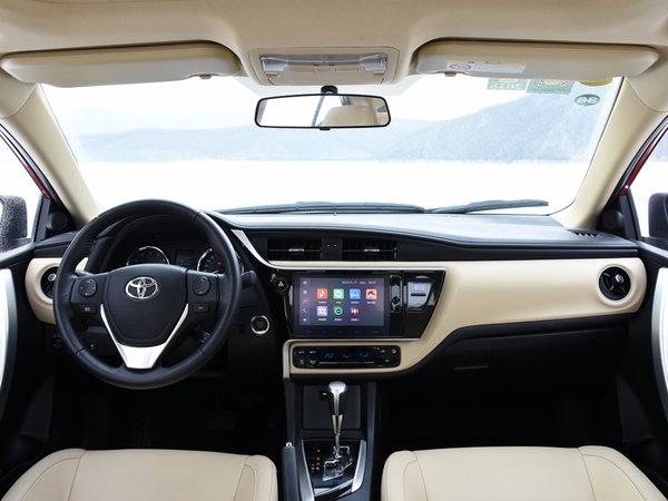 一汽丰田  改款 1.2T CVT 大中控全景