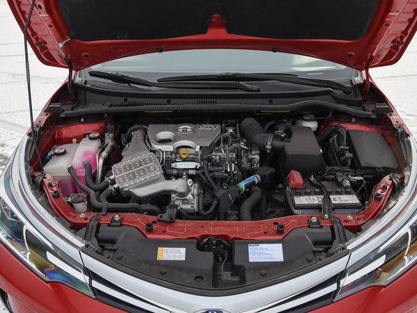 一汽丰田  改款 1.2T CVT 发动机舱